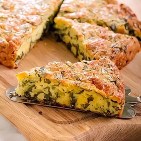 La Quiche aux epinards et au fromage gruyère